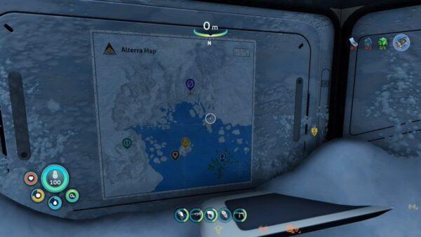 アルテラの施設マップ