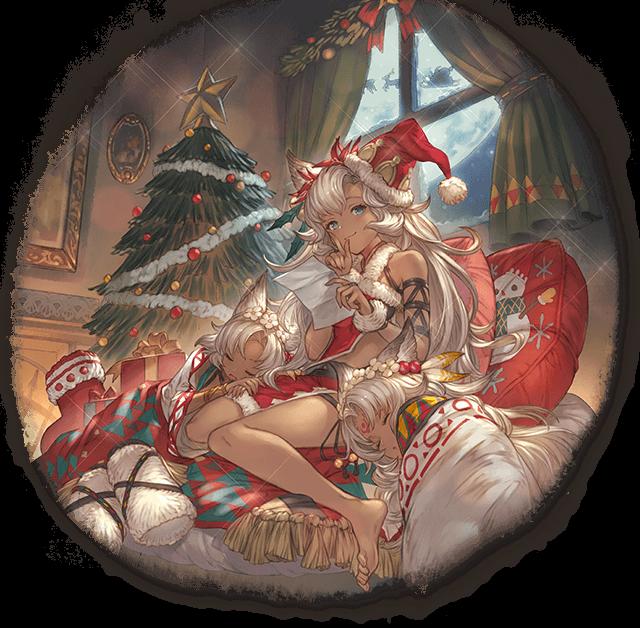 ネモネ(クリスマスバージョン) © Cygames, inc,
